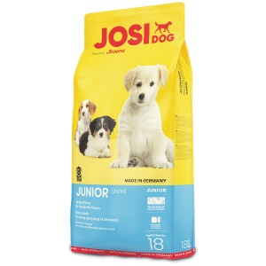 «Йозера ЙозиДог Юниор» корм для щенков и юниоров | Высокоэнергетическое сбалансированное питание «Josera™JosiDog Junior»: содержание белка в формуле, без глютена | Экономьте время и деньги: купите сейчас в зоомагазине Petplus корм по хорошей цене