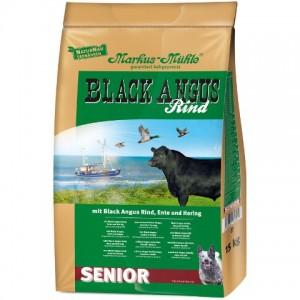 LupoSan Black Angus Senior с уткой и сельдью - это корм для пожилых собак