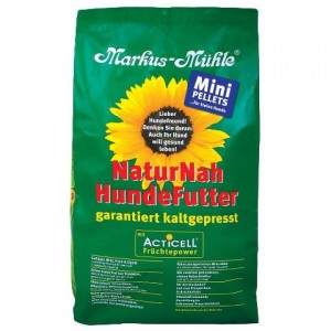 LupoSan Markus Muhle NaturNah Mini pellets - полноценный сухой корм для мелких пород