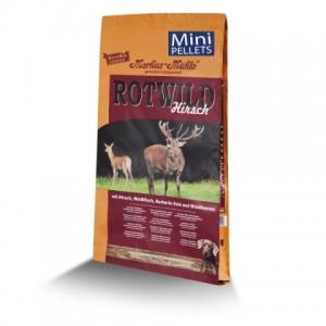 Новый корм для собак миниатюрных и мелких пород: из оленины, утки и рыбы «LupoSan Markus Muhle Mini Rotwild» | Свежий, питательный, натуральный корм, улучшает обмен веществ | Petplus