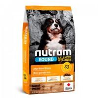 Nutram Sound Balanced Wellness (S3) Natural Large Breed Puppy Food → корм для щенков крупных пород