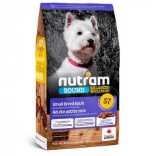 Nutram Sound Balanced Wellness (S7) Small Breed Adult Dog → корм для взрослых собак малых пород