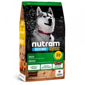 Nutram Sound Balanced Wellness (S9) Natural Lamb Adult Dog ▪ натуральный корм для собак с ягненком