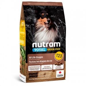 Nutram Total Grain-Free (T23) Turkey, Chiken and Duck Dog Food ▪ корм для собак с индейкой, курицей и уткой