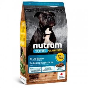 Nutram Total Grain-Free (T25) Salmon and Trout Dog Food ▪ корм для собак с форелью и семгой
