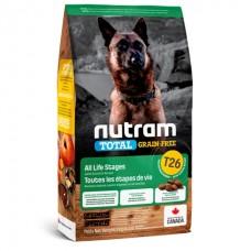 Nutram Total Grain-Free (T26) Lamb & Lentils Dog Food ▪ корм для собак с ягненком и бобовыми