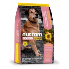 Nutram Sound Balanced Wellness (S6) Natural Adult Dog Food → корм для взрослых собак