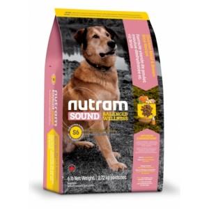 Nutram Sound Balanced Wellness (S6) Natural Adult Dog Food → корм для взрослых собак