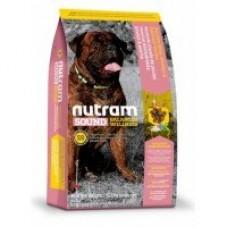 Nutram Sound Balanced Wellness (S8) Large Breed Adult Dog Food → корм для взрослых собак крупных пород