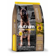 Nutram Total Grain-Free (T26) Lamb & Lentils Dog Food ▪ корм для собак с ягненком и бобовыми
