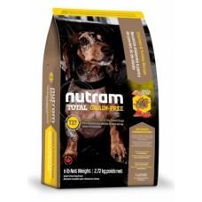 Nutram Total Grain-Free (T27 ) Turkey & Chiken Small Breed Dog Food - корм для собак малых пород с индейкой, курицей и уткой