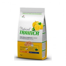 TRAINER® NATURAL Mini With Chicken Rice Aloe Vera - корм для взрослых собак малых пород / курица с рисом