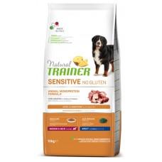 Trainer Natural Dog Sensitive Adult Medium&Maxi With Duck - корм для взрослых собак средних и крупных пород / утка с рисом