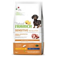 TRAINER FITNESS Adult Mini With Duck Rice Oil - корм для собак малых пород / утка с рисом