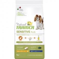 Trainer Natural Dog Sensitive Adult Mini with Rabbit (No Gluten) -  корм для взрослых собак малых пород / кролик с рисом