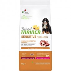 Trainer Natural Dog Sensitive Puppy / Junior Medium & Maxi Duck (No Gluten) - корм для щенков средних и крупных пород / с уткой