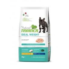 TRAINER NATURAL Weight Care Small&Toy Adult - корм для взрослых собак малых пород склонных к полноте