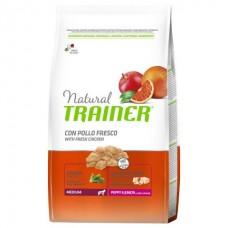 TRAINER NATURAL Puppy / Junior Medium - корм для щенков и юниоров средних пород