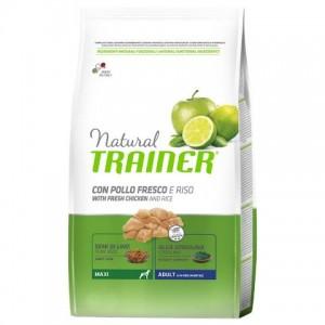 TRAINER® NATURAL Maxi With Chicken Rice Aloe Vera (для взрослых собак крупных пород с курицей, рисом и алоэ-вера)
