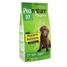 Pronature Original Puppy Growth Deluxe - сухой корм для щенков без пшеницы, кукурузы, сои
