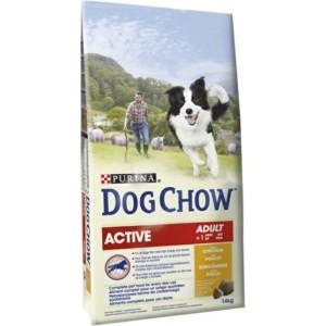 Dog Chow Active Chicken & Rice (для активных собак)
