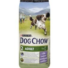 Dog Chow Adult Lamb - корм для взрослых собак с ягнёнком