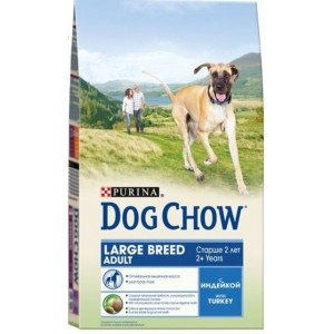 Dog Chow ADULT Large Breed ☆ корм для собак крупных пород - индейка