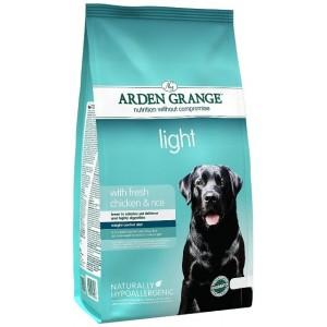 Arden Grange (Арден Грендж) Light Chicken and Rice Adult Dog - корм для собак с избыточным весом / курица с рисом