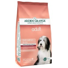 Arden Grange Adult Dog Salmon & Rice - корм для собак с чувствительным желудком и кожей / лосось c рисом