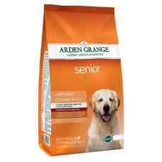 Arden Grange Senior Dog Food - корм для собак преклонного возраста / курица с рисом