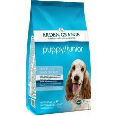 Arden Grange Chicken Puppy/Junior Dog Food - корм для щенков и юниоров от 2-х месяцев