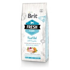 Brit Fresh Fish with Pumpkin Adult Large Muscles & Joints - корм для собак крупных пород / рыба