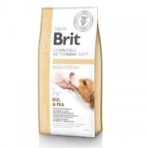 Brit Veterinary Diet Dog Grain Free Hepatic - беззерновая диета при печеночной недостаточности у собак