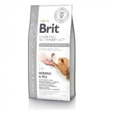 Brit Veterinary Diet Dog Grain Free Joint & Mobility - беззерновая диета при заболеваниях суставов и нарушениях подвижности у собак