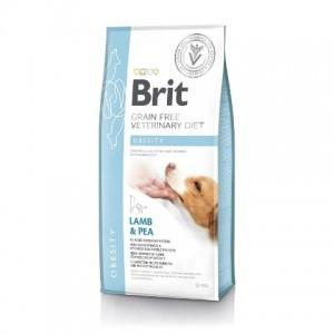 Brit Veterinary Diet Dog Grain Free Obesity - беззерновая диета при избыточном весе и ожирении собак