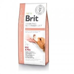 Brit Veterinary Diet Dog Grain Free Renal - беззерновая диета при хронической почечной недостаточности у собак
