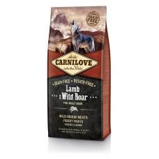 Carnilove Lamb and Wild Boar for Adult Dogs - сухой корм для собак с мясом ягненка и дикого кабана