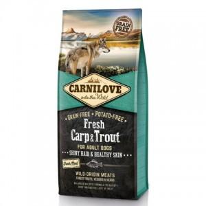 «Карнилав Фреш Карп&Форель» сбалансированный корм для собак | Правильный рацион для здоровья Вашей собаки «Carnilove™Fresh Carp&Trout»: купите сейчас в зоомагазине Petplus | Экономьте время и деньги: продажа, отзывы (оставьте свой отзыв)