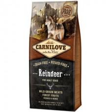 Carnilove Reindeer for Adult Dogs - сухой корм для собак с мясом северного оленя