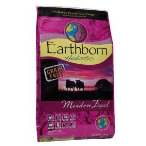 Earthborn Holistic Meadow Feast with Lamb Meal  - беззерновой корм для собак всех пород / ягненок c овощами