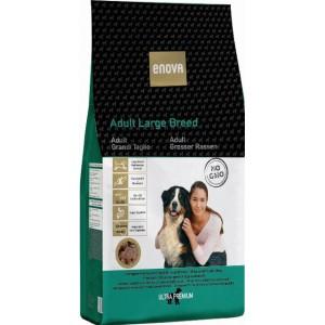 Суперпремиальные корма «Enova Ultra Premium Adult Large Breed» | Корм «Энова Ультра-Премиум Собаки Крупные Породы»: беззерновой с глюкозамином и хондроитином | Страна-производитель: Италия | Petplus