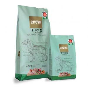 Суперпремиальные беззерновые корма «Enova Formula TRIS Dogs» | Корм «Энова Формула Трис Собаки Взрослые Щенки»: здоровье желудочно-кишечного тракта | страна-производитель: Италия | Petplus