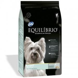 Equilíbrio (Эквилибрио) Adult Light Small Breeds Indoor - низкокалорийный корм для собак мини и малых пород