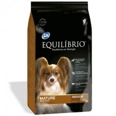 Equilibrio Dog Mature Small Breeds Indoor - корм для пожилых или малоактивных собак мини и малых пород