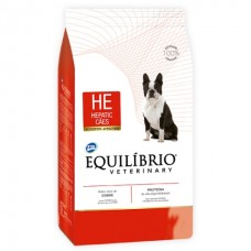 Equilíbrio Veterinary Hepatic (HE) - лечебный корм для собак с заболеваниями печени