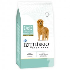 Equilíbrio Veterinary Obesity & Diabetic (O/D) - лечебный корм для собак, страдающих от ожирения, сахарного диабета