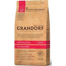 Grandorf Lamb & Rice Adult All Breeds - корм для взрослых собак всех пород / с ягненком и рисом