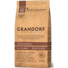 Grandorf Sensitive Care Holistic Duck & Potato All Breeds (Grain Free) - беззерновой корм для собак / с уткой и бататом