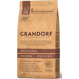 Grandorf (Грандорф) Sensitive Care Holistic Duck & Potato All Breeds - беззерновой корм для собак / с уткой и бататом
