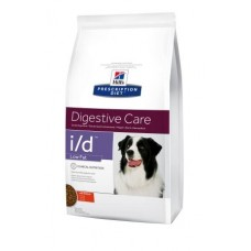 Hill's Prescription Diet Canine I/D Low Fat - лечебный корм для лечения желудочно-кишечных заболеваний, облегченный